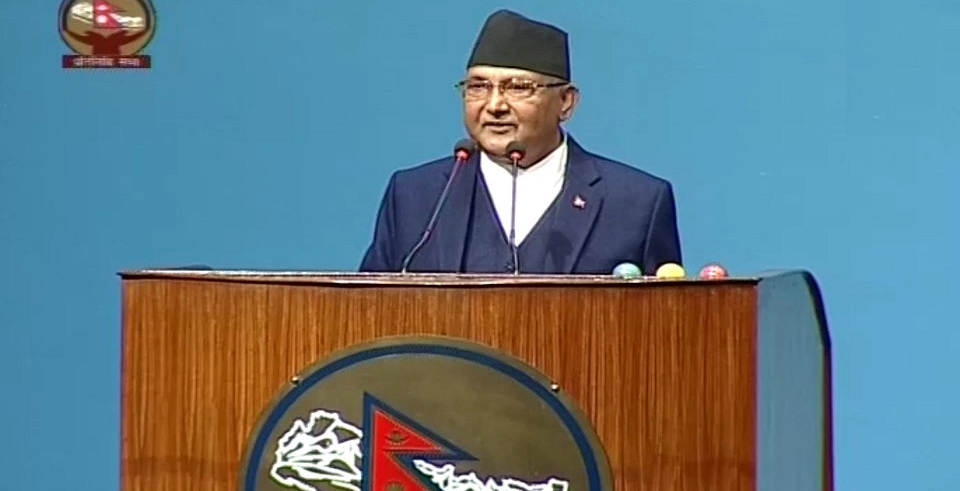PM Oli to deliver govt statement on contemporary issues in few days (with video)