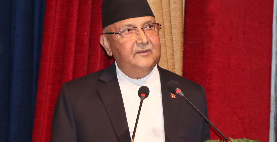 PM Oli extends greetings on Tihar (with video)