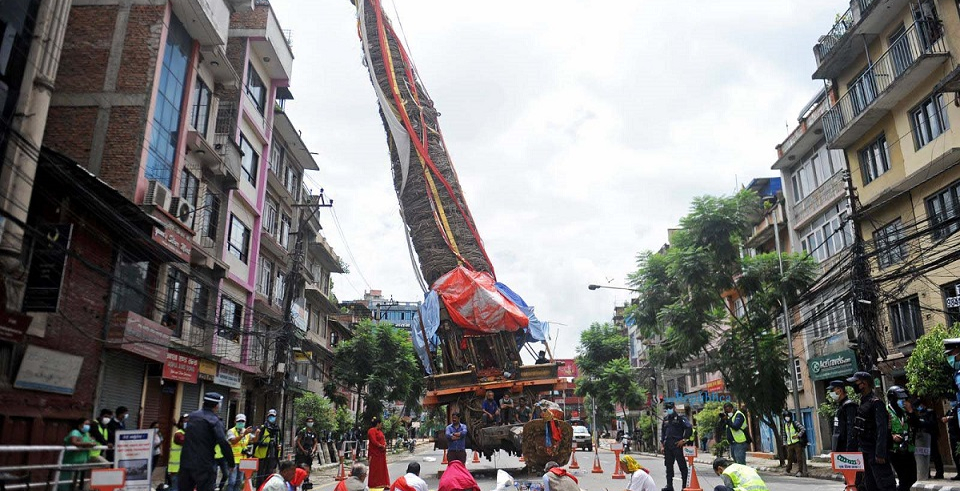 VIDEO: Rato Machhindranath chariot procession