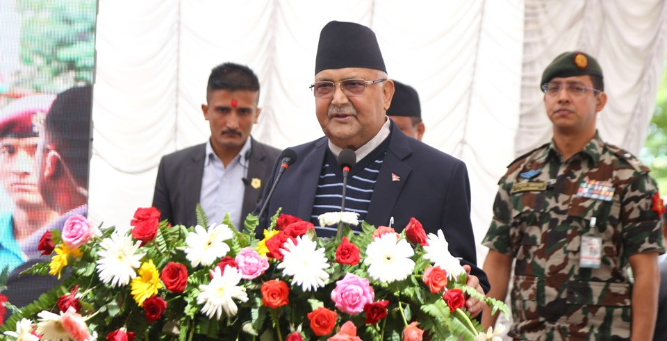 Melamchi water in less than a year: PM Oli (with video)