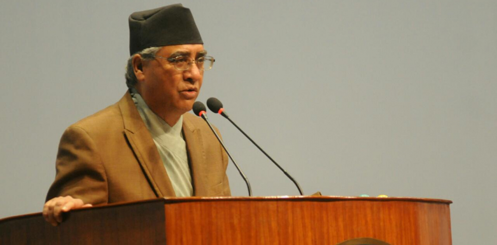 MCC should be approved soon, says NC Prez Deuba (with video)
