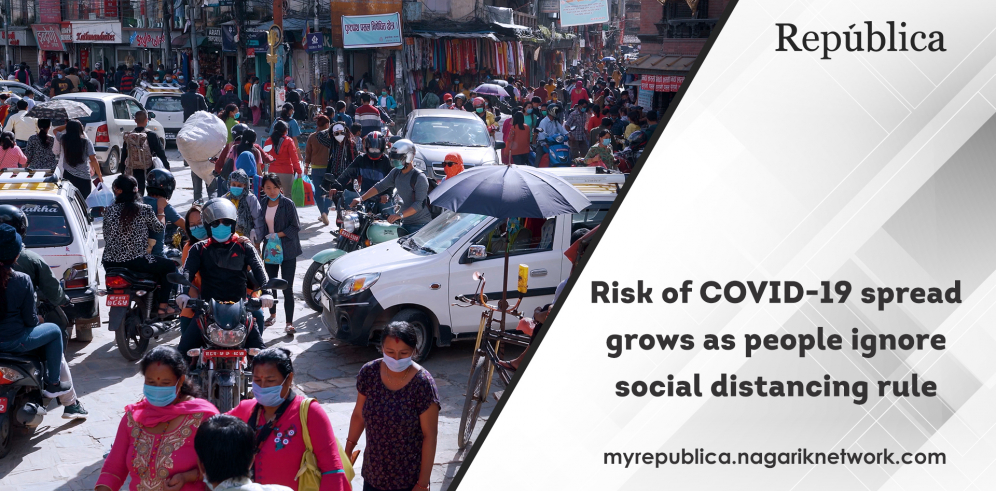 VIDEO: Risk of COVID-19 spread grows as people ignore social distancing rule