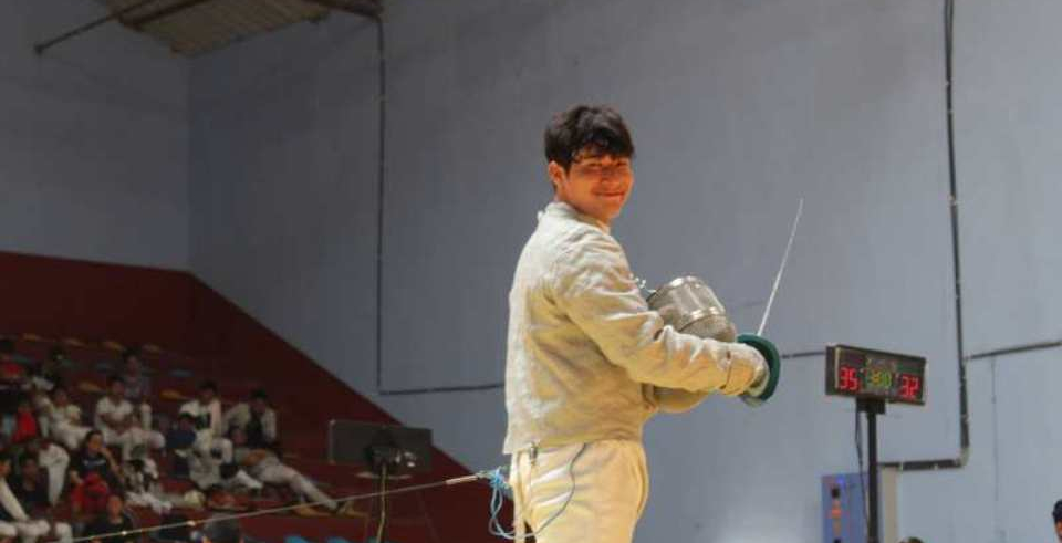 SAG includes fencing for the first time: Nepali fencer Payas aims for gold