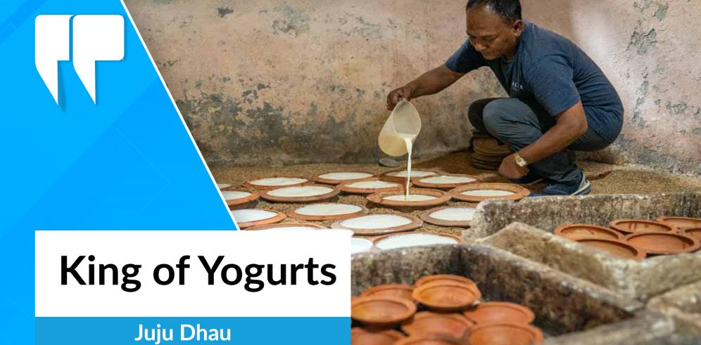 Juju Dhau: King of Yogurts