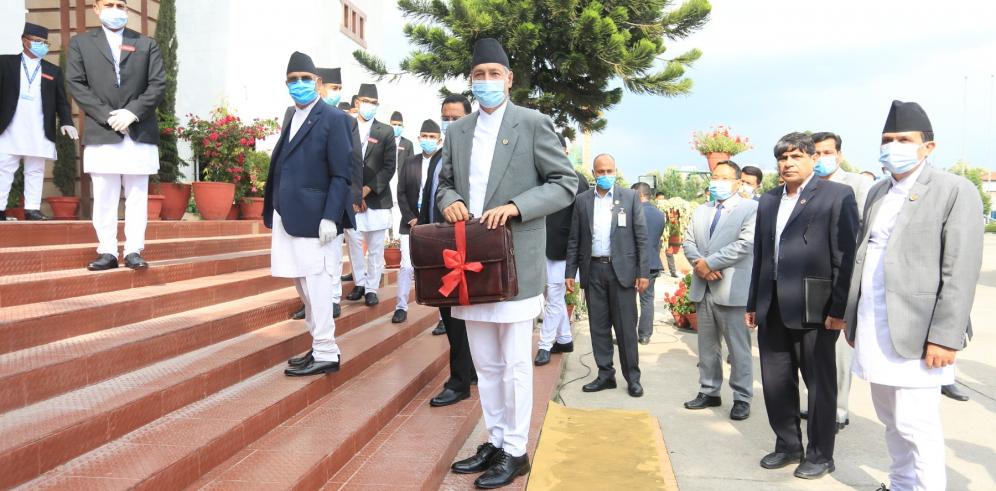 LIVE: Finance Minister Yubaraj Khatiwada unveils federal budget
