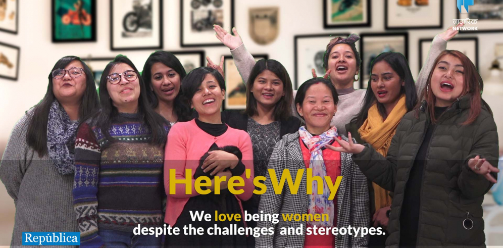 Celebrating womanhood through women voices