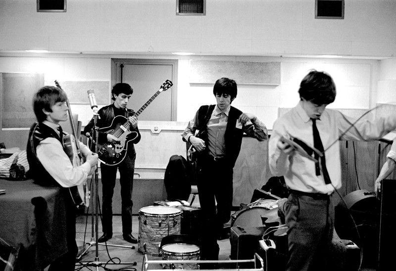 Unseen photographs capture Rolling Stones' humble beginnings