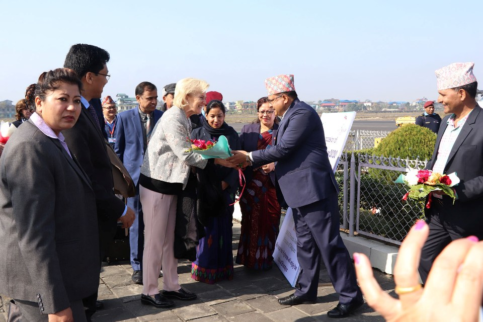 Belgian princess welcomed in Bharatpur