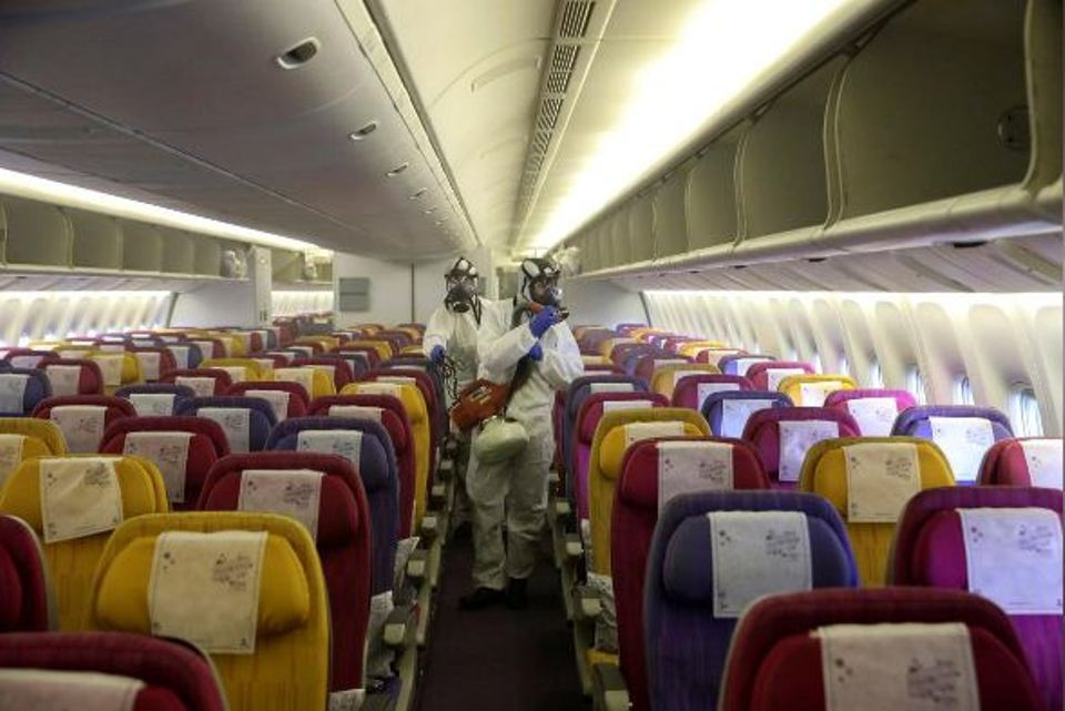 No hot meals, blankets, magazines as airlines step up fight on virus