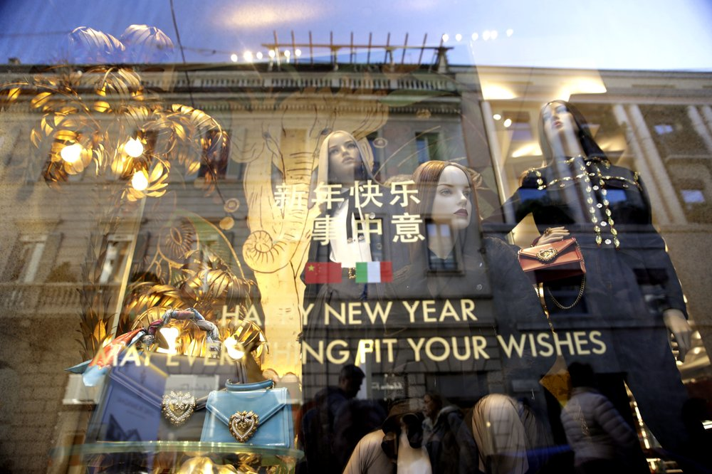 Virus blocks 3 Chinese brands from Milan Fashion Week
