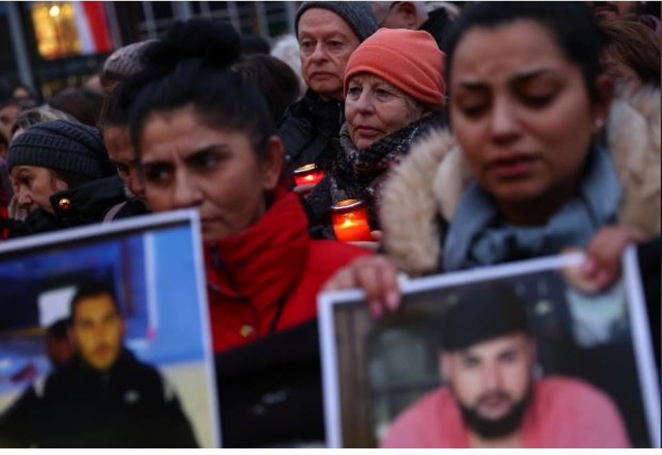 Suspected shisha bar gunman published racist manifesto: German prosecutor