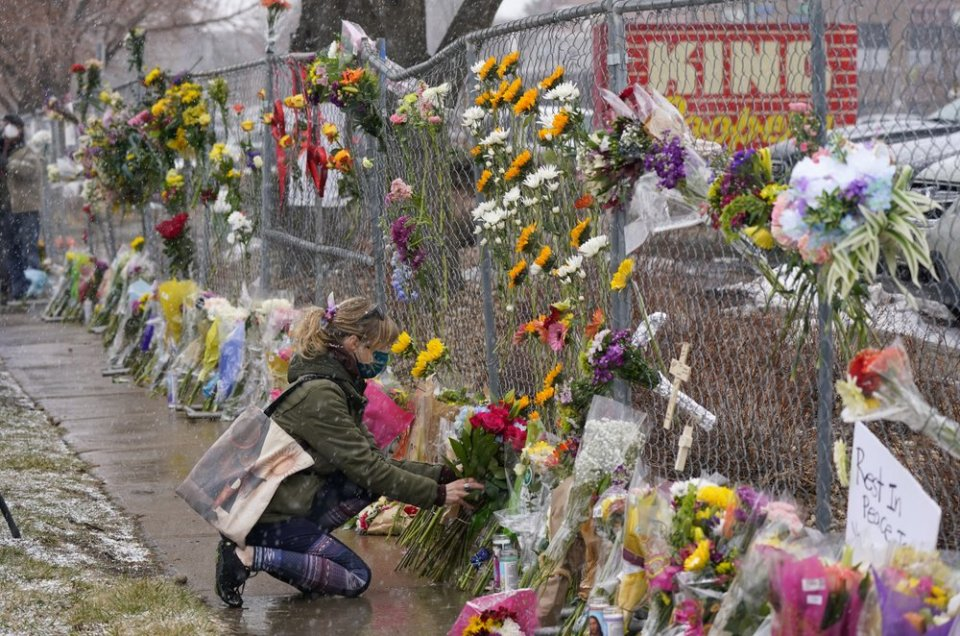 Colorado shooting victims: Store staffers, cop, photographer