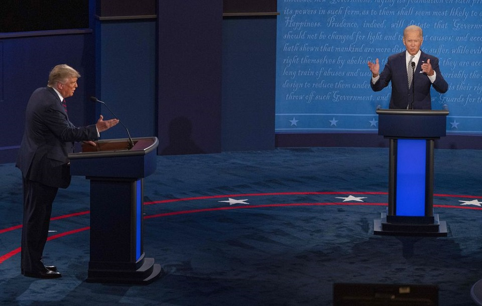 Trump, positive for COVID-19, says won't participate in virtual debate