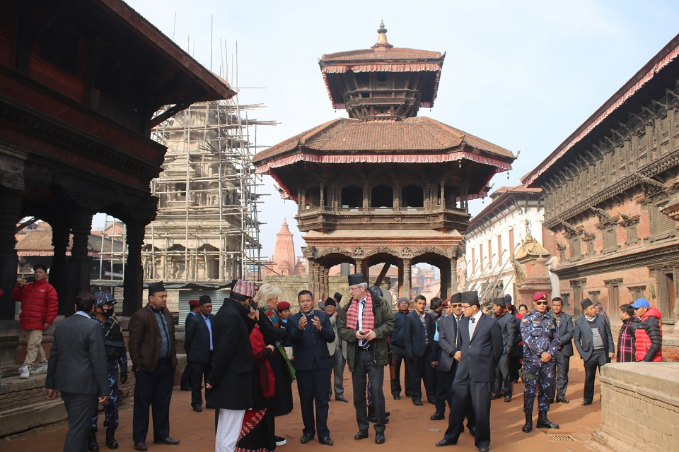 Princess Astrid visits cultural heritage in Bhaktapur (with photos)