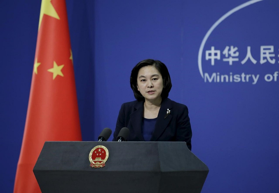 China says it is not afraid of any U.S. sanctions over South China Sea