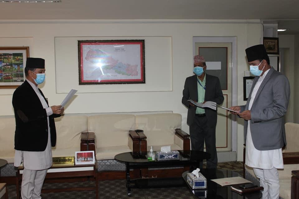 Khati sworn-in as Attorney General