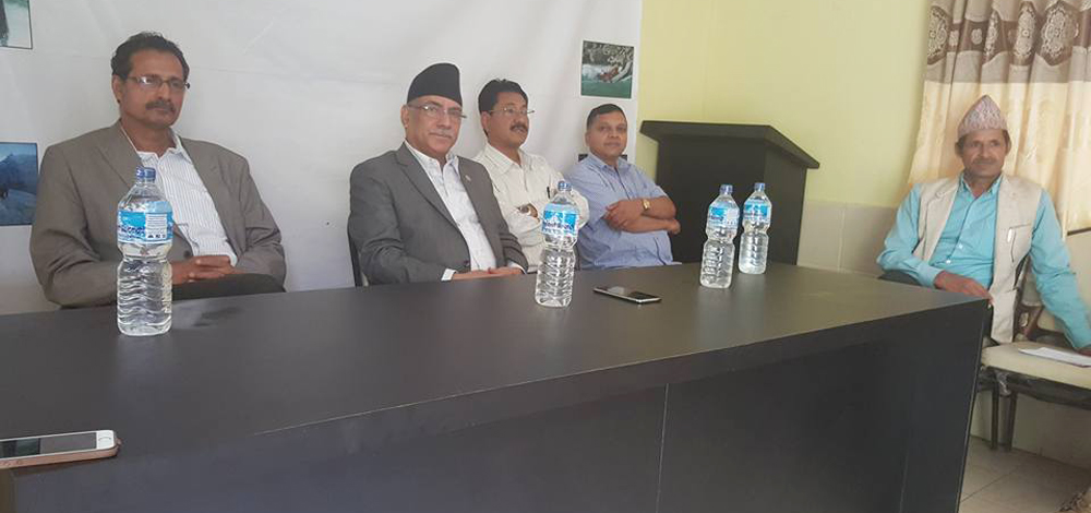 PM reaches Sindhupalchok to finalize party candidates