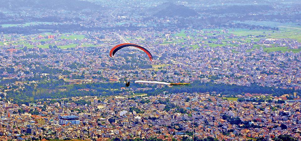 CAAN warns paragliding companies in Pokhara