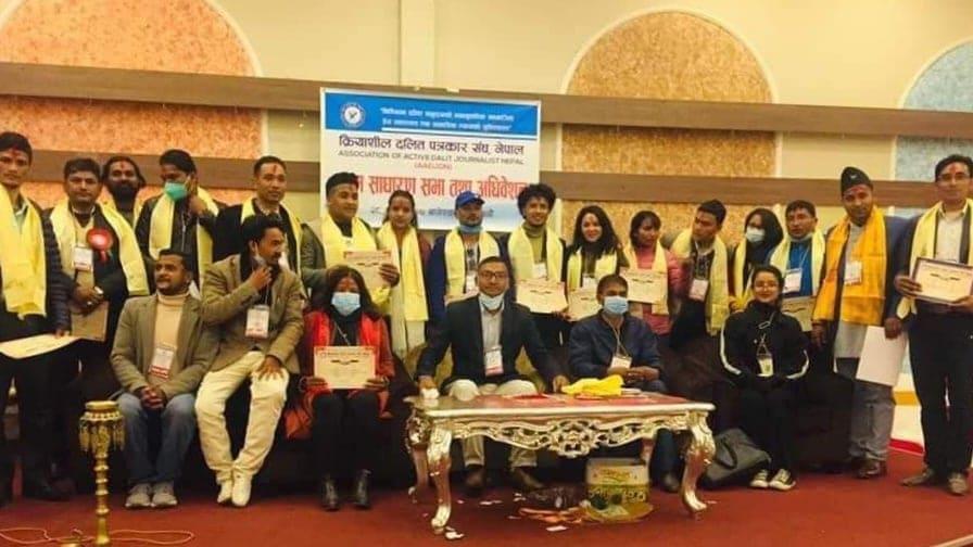 Sunar elected president of 'Kriyashil Dalit Patrakar Sangh' for a second term