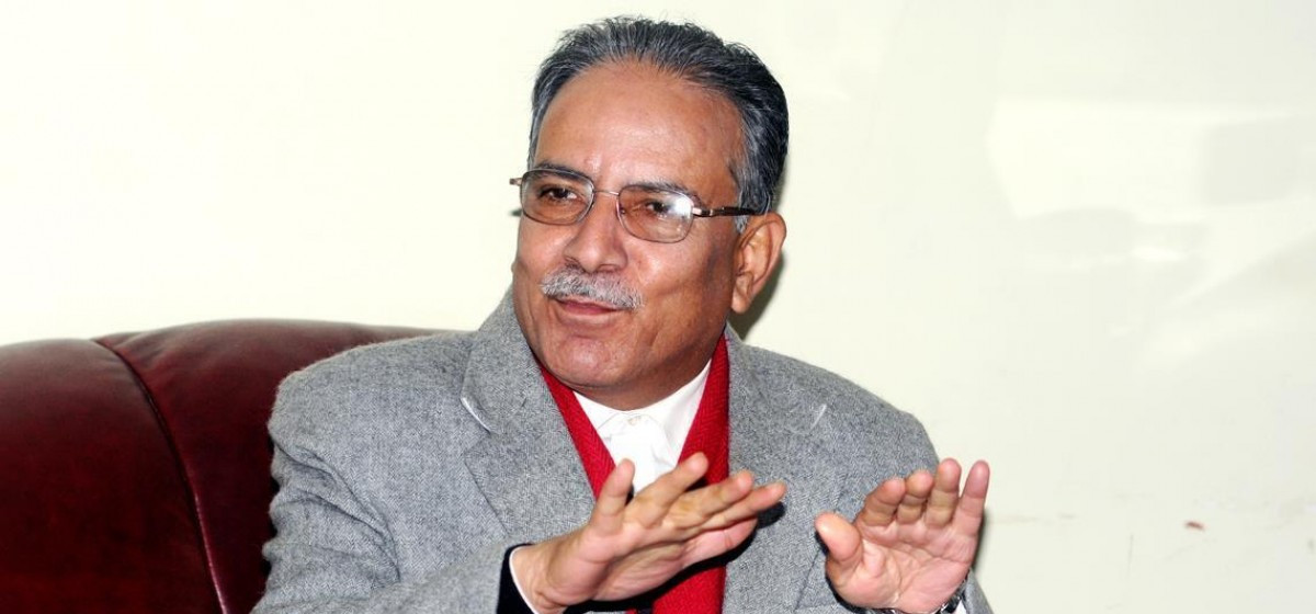 Govt should accelerate work to provide relief to flood victims: Dahal