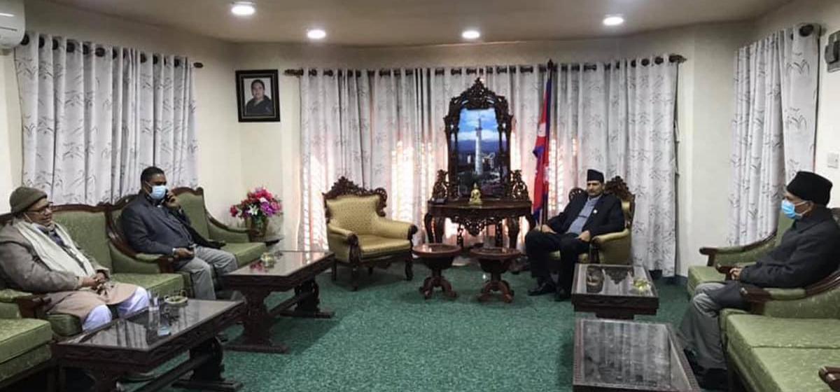 JSP to set up five-member task force to hold talks for new govt formation