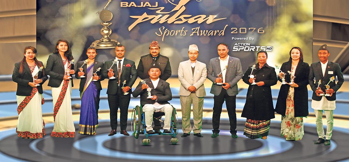 Aruna bags People's Choice award, Gaurika and Mandekaji best athletes