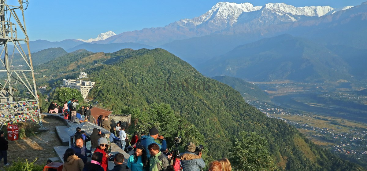 61,000 int'l tourists visited Nepal in past seven months