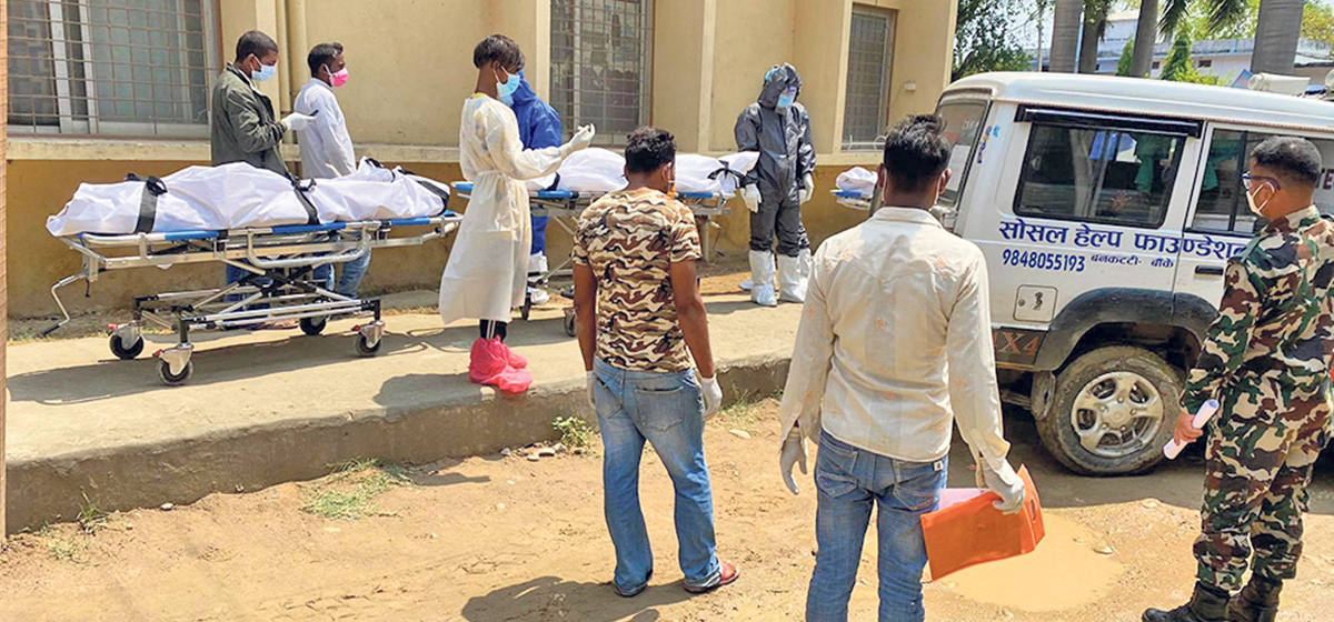 14 die of COVID-19 in Banke in the past two days