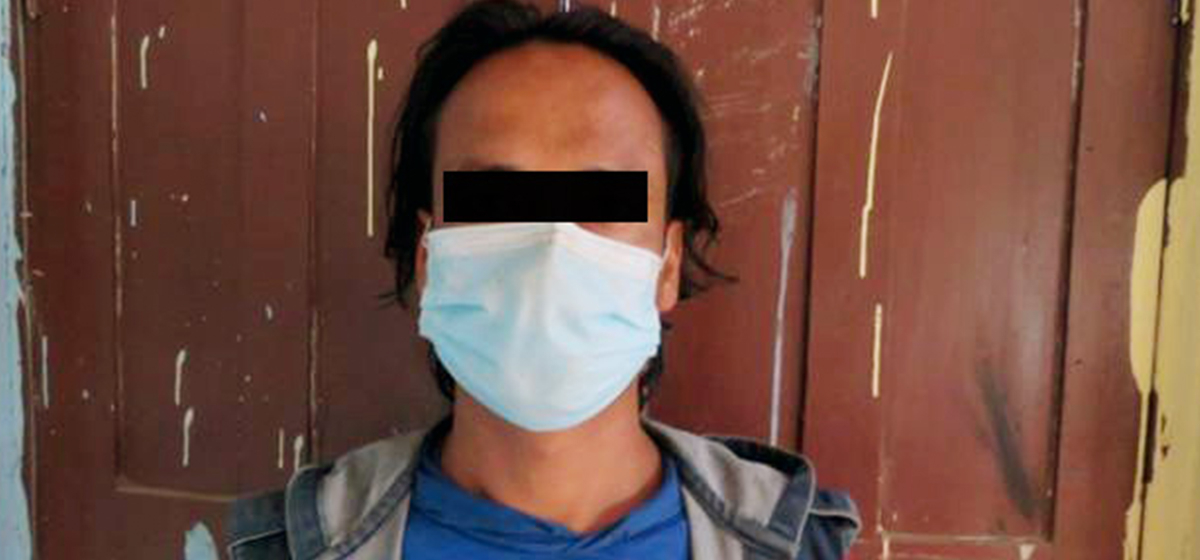 Man arrested for allegedly raping his own daughter