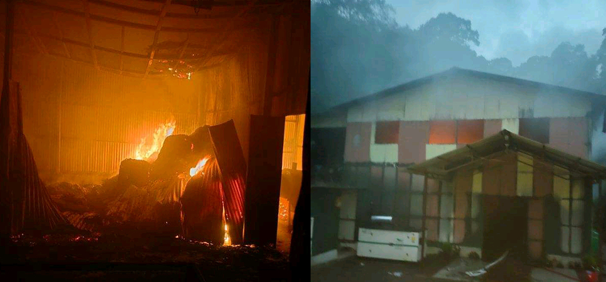 Fire at tea factory, property worth Rs 30 million gutted