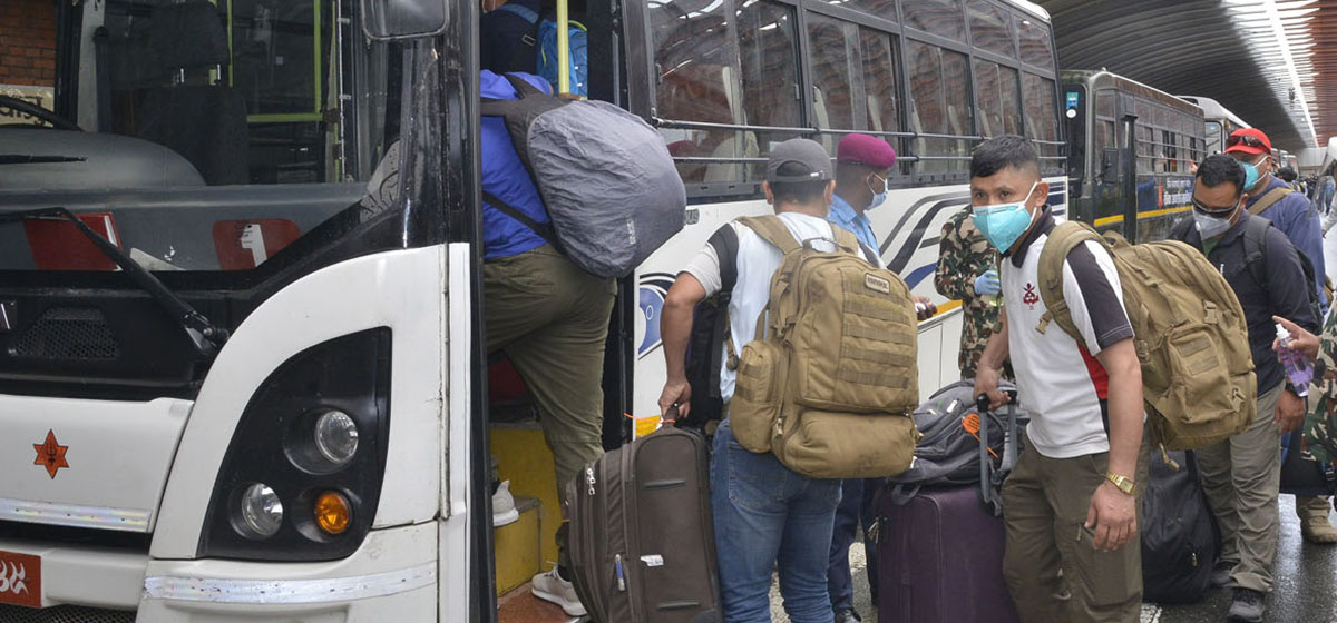 558 Nepali nationals rescued, repatriated home from Afghanistan