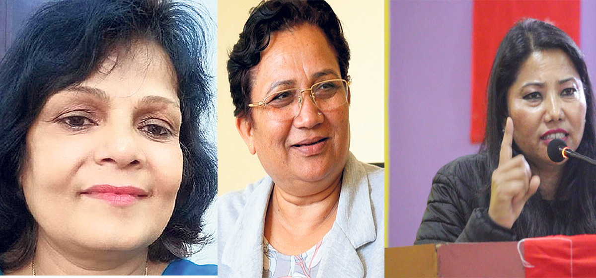 Responsibility of country's development now rests on female ministers' shoulders