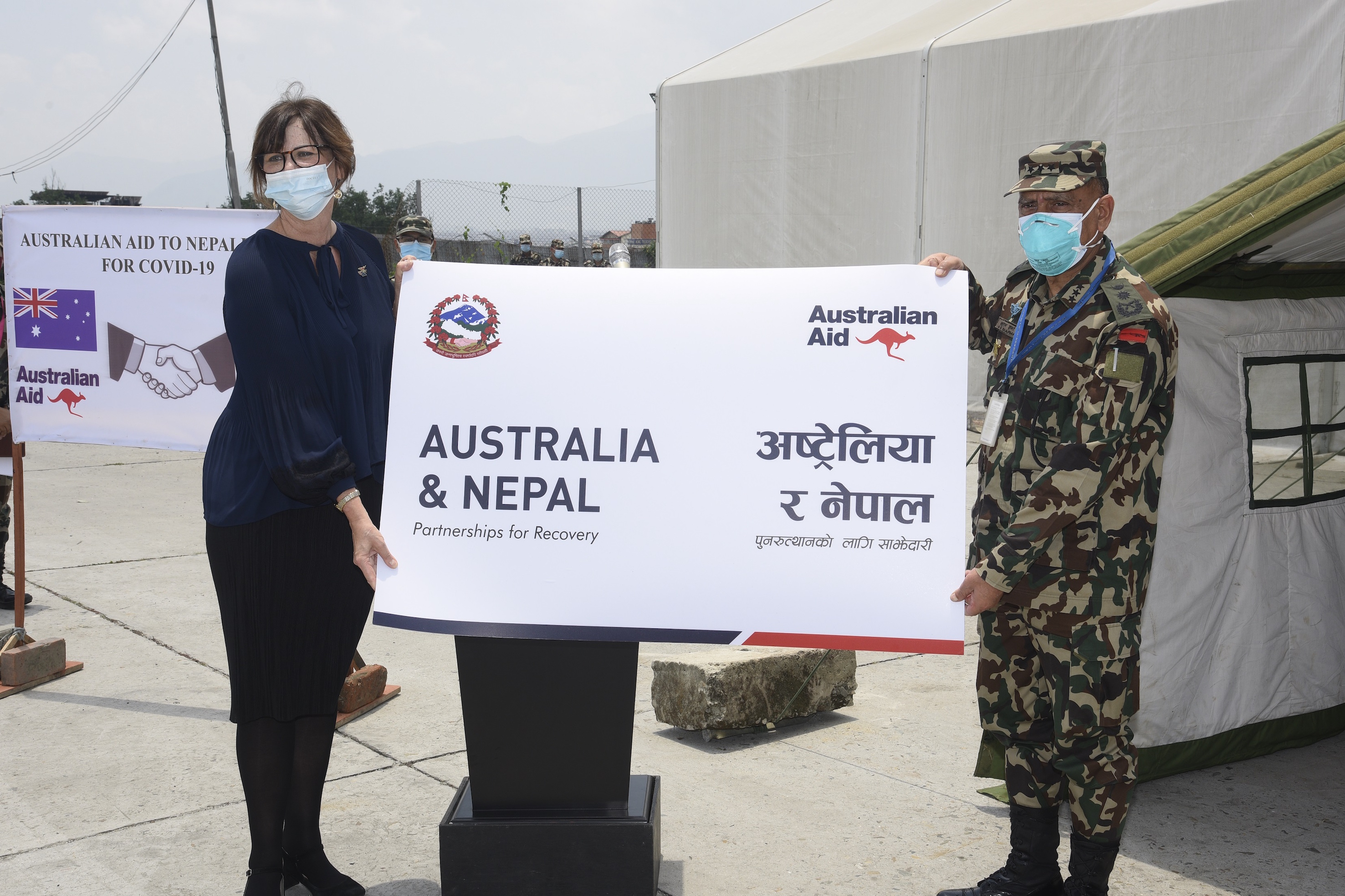 Australia provides essential medical supplies to Nepal Army