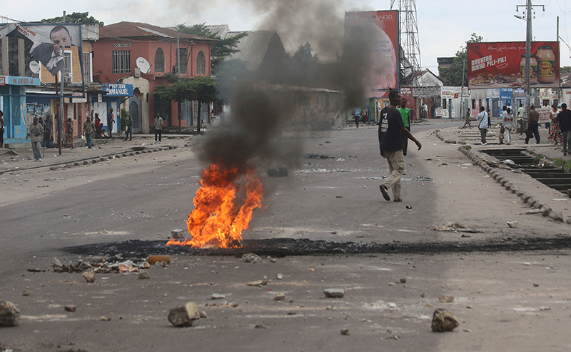 At least 26 killed in Congo protests, rights group says