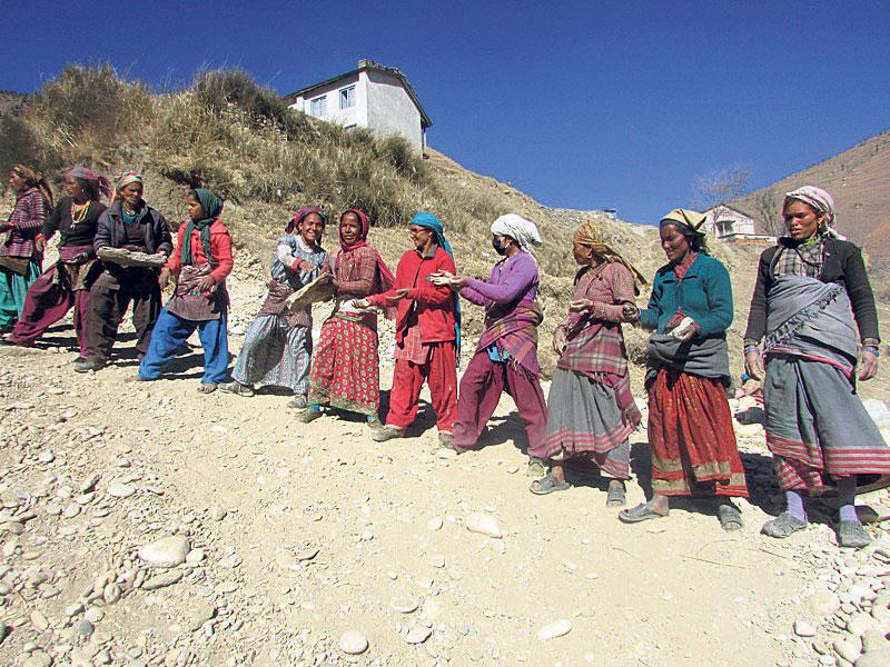Kalapahad, that emptiesKarnali villages of menfolk