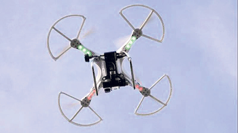 New joystick enables drone flying with one hand