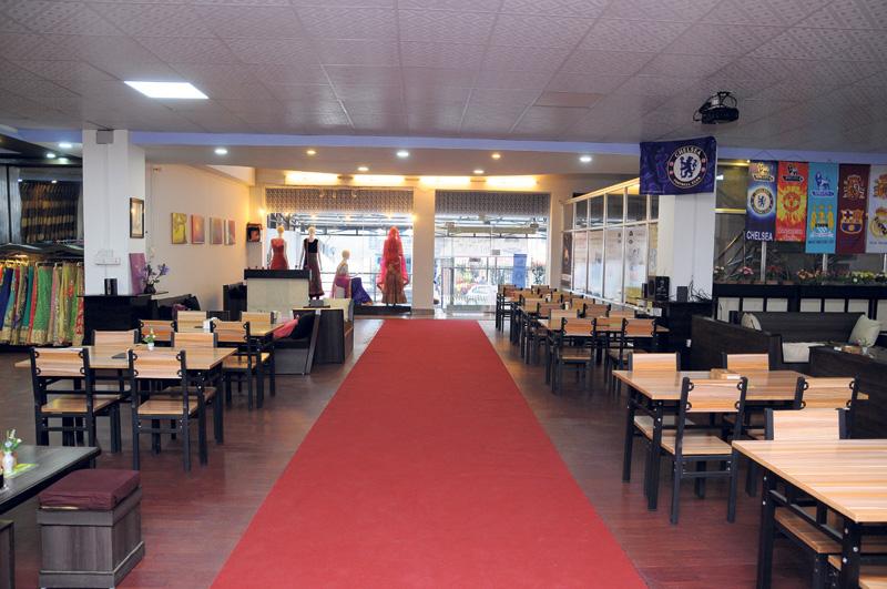 Boutique cafes