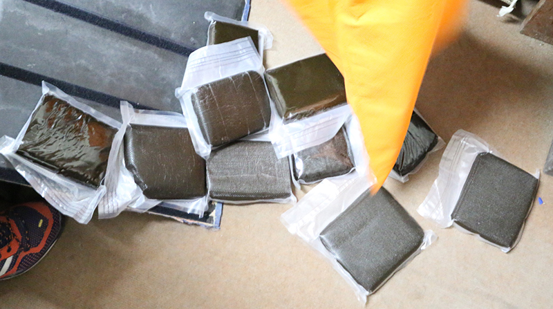 Turkish national arrested with 6 kg hashish