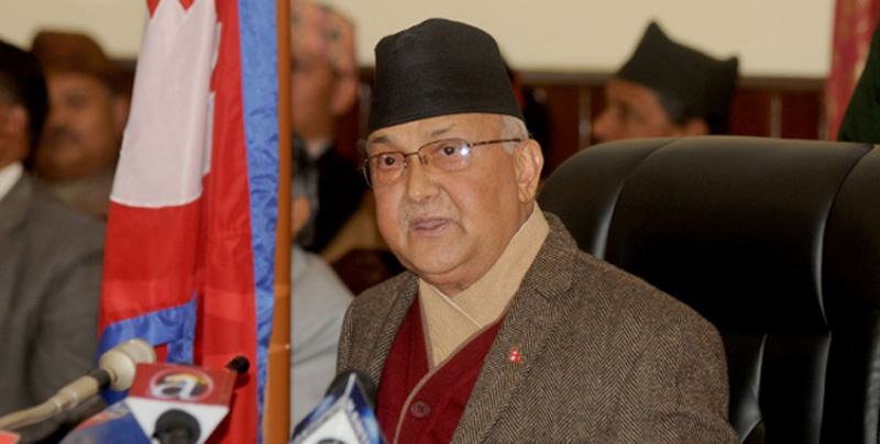 PM Oli insists on policy-level reforms in education