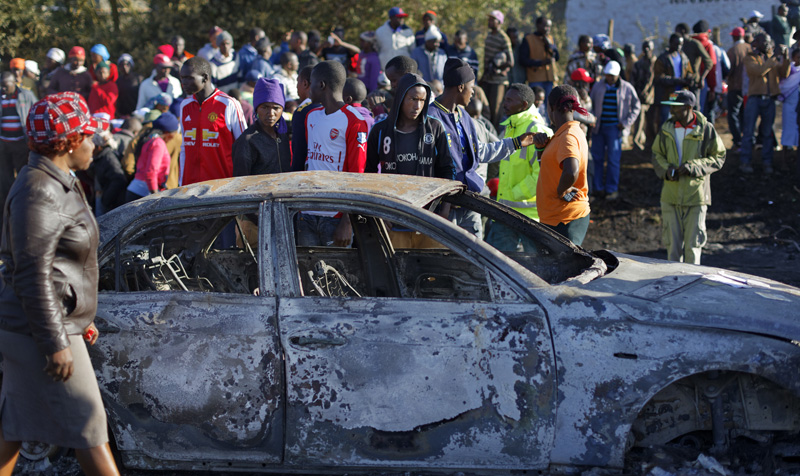 More than 30 dead as tanker rams into vehicles on Kenya road