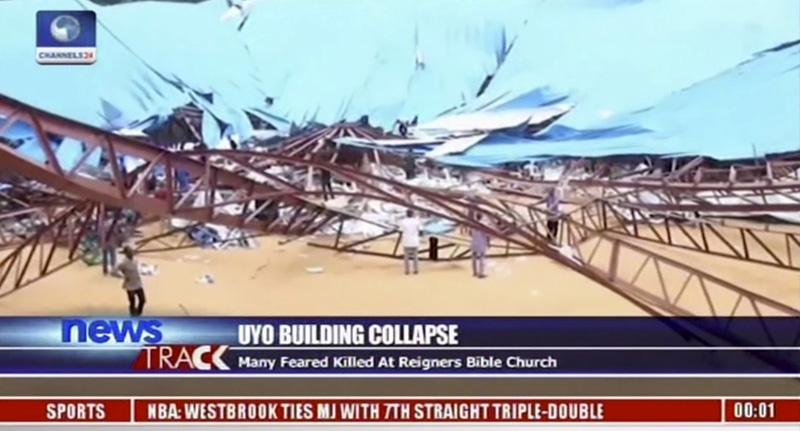 160 dead in collapsed Nigerian church (Update)