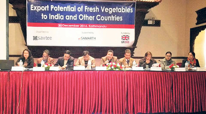 Vegetable export potential largely unexploited