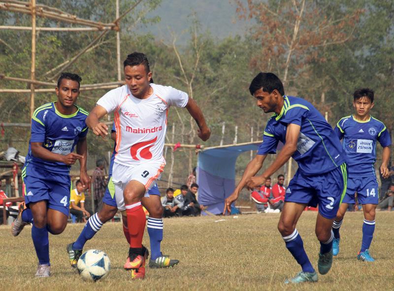 APF into men's football final