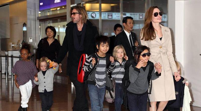 Angelina Jolie wants children to remain close to Brad Pitt