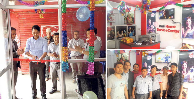 Dish Home opens service center in Baglung