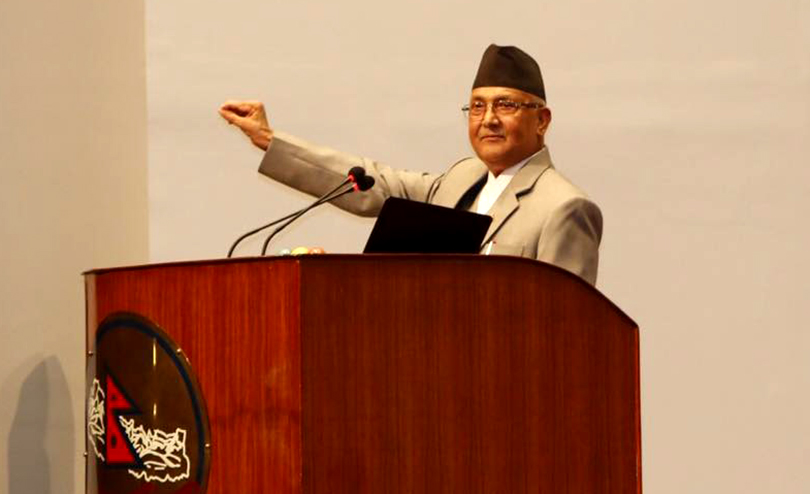 Hold elections immediately, demands UML Chair Oli