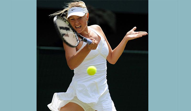 Sharapova to return from ban in April at Stuttgart event