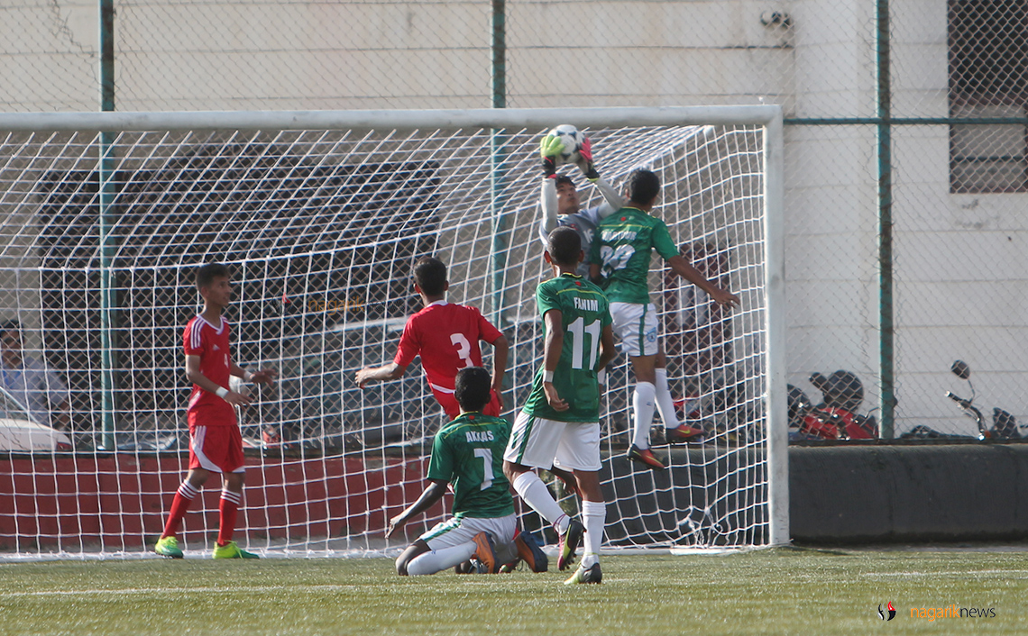 Nepal enters SAFF U-15 final defeating Bangladesh 4-2 (photo feature)
