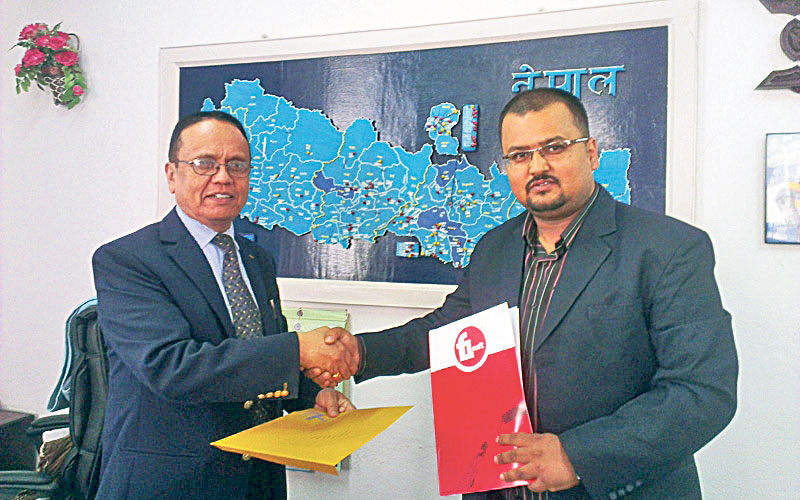Nepal Bank, F1Soft join hands