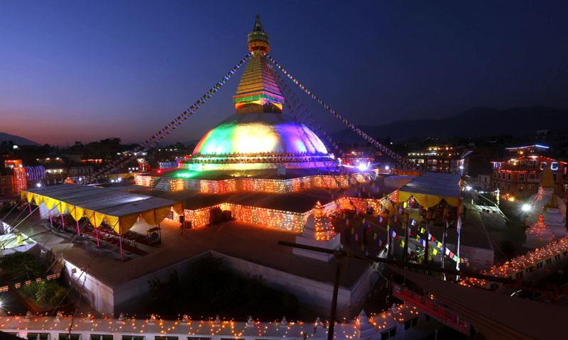 Historic site rebuilt in quake-hit Nepal; gov't didn't help